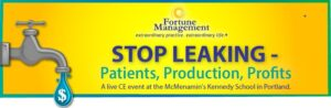 Stop Leaking Event Banner